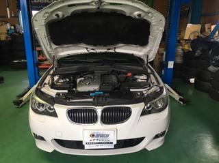 BMW E60 エンジンチェックランプ点灯!!
