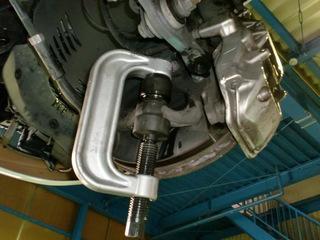 W211 AMG E55 ボールジョイント 010.JPG