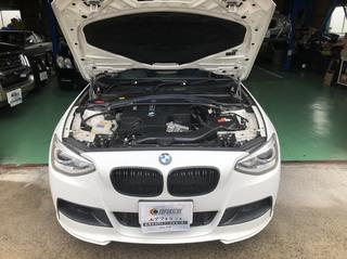 BMW F20 135 エンジンチェックランプ点灯!!