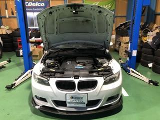 BMW E92 オーバーヒート!! 緊急入庫!!