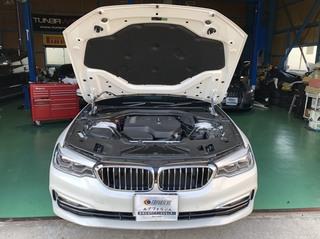 BMW G31 ドライブレコーダー取付け!!