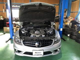 AMG CL63 足回り異音!!