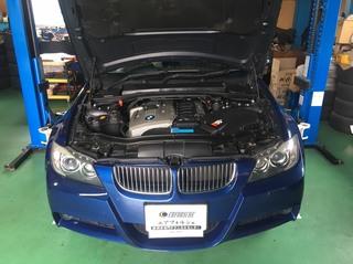 BMW E91 エンジンチェックランプ点灯!! O2センサー交換!!