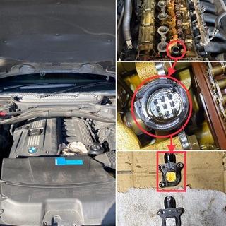 BMW X3 エンジン警告灯 点灯!! 営業時間変更!!